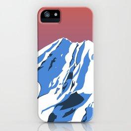 The Brooks Range iPhone Case