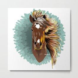 Mare (Horse) - Yegua (Caballo) Metal Print