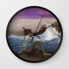 The calm before the storm Wall Clock
