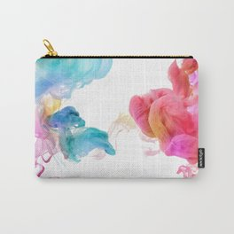 Colorful smoke pattern Carry-All Pouch