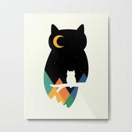 Eye On Owl Metal Print