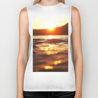 lake Biker Tanks featuring Lake by Meg Hartley Photography