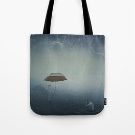 i'm here to protect you Tote Bag