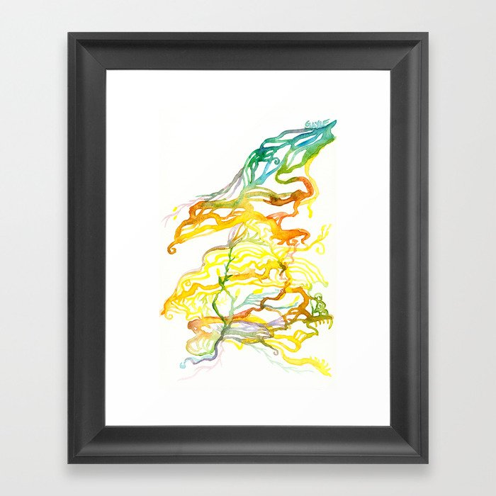 Iceland Abstracted #6 Framed Art Print