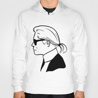karl lagerfeld Hoodies featuring Karl by cvrcak