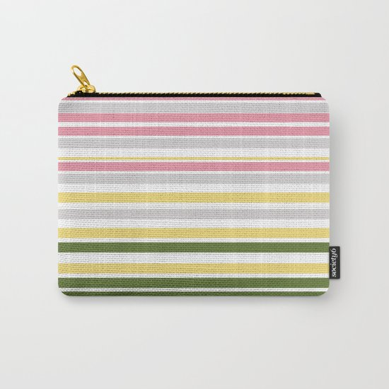 Calm Layers of Pastels Carry-All Pouch