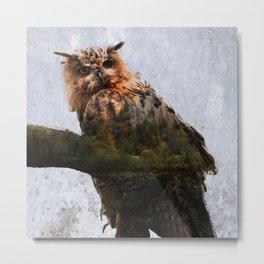 The Great Owl Metal Print