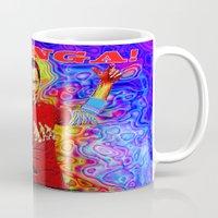 bazinga Mugs featuring Bazinga Sheldon! by JT Digital Art