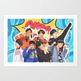 ANPANMAN BTS Art Print