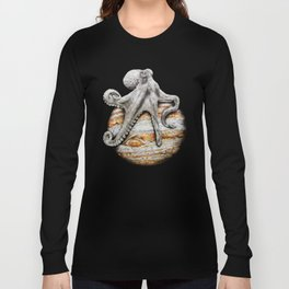 Celestial Cephalopod Long Sleeve T-shirt