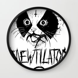 Mewtilator Wall Clock