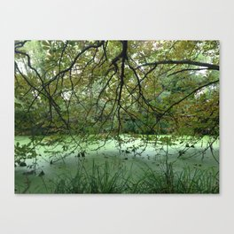 Sign Of The Times (Landscape) Canvas Print