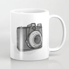 Vintage Analog Camera - Agfa Clack (B&W Edition) Coffee Mug