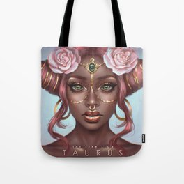 Taurus - The Star Sign Tote Bag