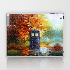 starry Autumn blue phone box Digital Art iPhone 4 4s 5 5c 6, pillow case, mugs and tshirt Laptop & iPad Skin