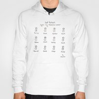 kendrick lamar Hoodies featuring Self Portrait (Kendrick Lamar Version) by Clifford Allen