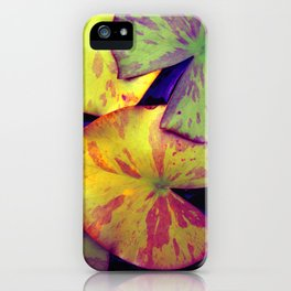 lily pads IIX iPhone Case