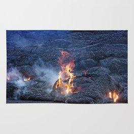 Kilauea Volcano Lava Flow. 5 Rug