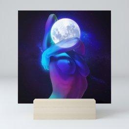 Moon Head Mini Art Print