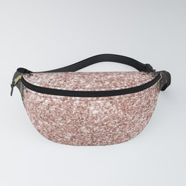 Black Marble & Pink Glitter Fanny Pack