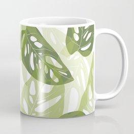 Light green leaves Coffee Mug