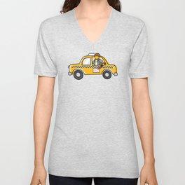 Taxi Writer Unisex V-Neck