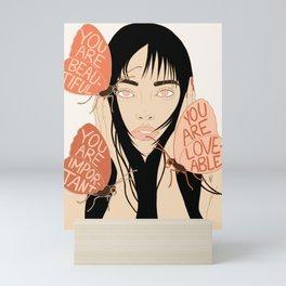Listen To Your Butterflies Mini Art Print