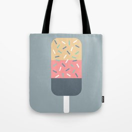 Popsicle (Blue) Tote Bag