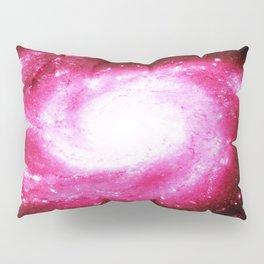 Galaxy Hot Pink Spiral Pillow Sham