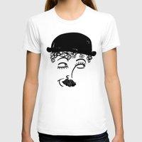 chaplin T-shirts featuring Chaplin  by Sardine
