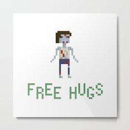 free hugs 4 Metal Print