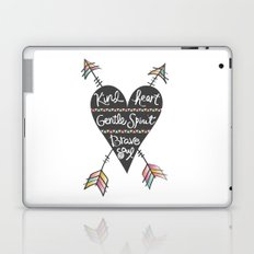 Kind Gentle Brave 1 Laptop & iPad Skin