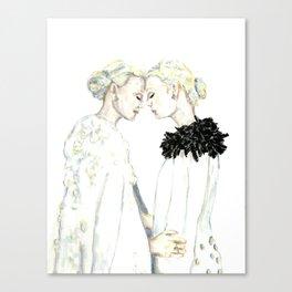 Tete-A-Tete Canvas Print