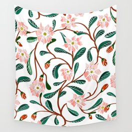 Floral Deco Wall Tapestry