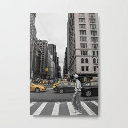 YEL Metal Print