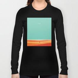Where the sea meets the sky Long Sleeve T-shirt