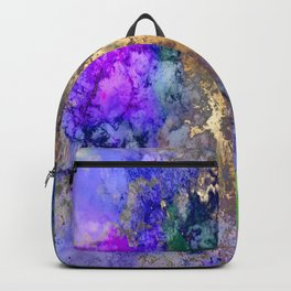 Abstract, galaxy Backpack