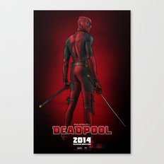 Deadpool (Poster) Canvas Print