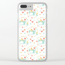 Love sewing Clear iPhone Case