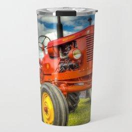 Red Tractor Travel Mug