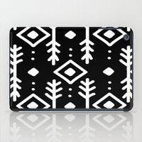 nordic iPad Cases featuring BLACK NORDIC by Nika