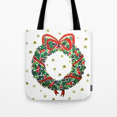 Christmas Wreath II Tote Bag