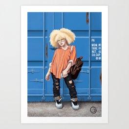 Cargo Art Print