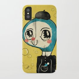 Portrait of Doraemon's Creator, Hiroshi Fujimoto iPhone Case