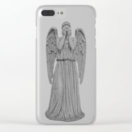 Don't Blink Clear iPhone Case