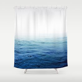Calm Blue Ocean Shower Curtain