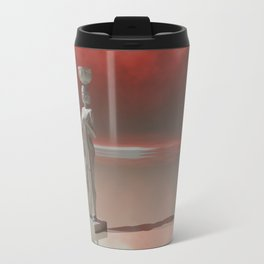 The statue Travel Mug