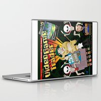video game Laptop & iPad Skins featuring Video Game Trader #30 Cover Design by Video Game Trader