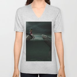 Unusual Friend Unisex V-Neck