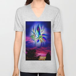 fertile imagination 9 Unisex V-Neck